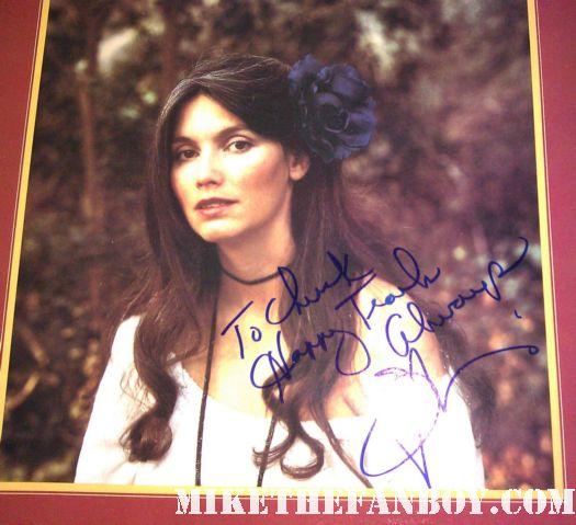 emmylou harris signed autograph album vinyl cover rare promo country music legend sarah mclachlan rare promo