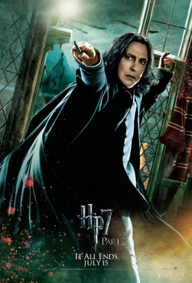 Severus-Snape-in-Harry-Potter-and-the-Deathly-Hallows-Part-2-alan rickman rare promo individual promo mini poster