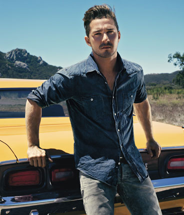 Shia LaBeouf in a sexy hot photo shoot for details magazine august 2011 rare promo photo hot shirtless promo transformers 3 disturbia indiana jones