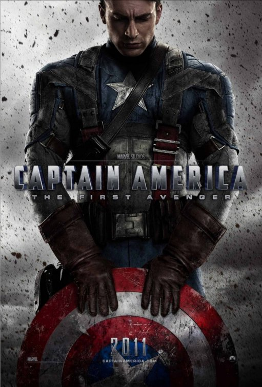 captain america the first avenger rare promo movie poster sexy hot muscle buff teaser poster the first avenger hugo weaving red skull bicep workout abs