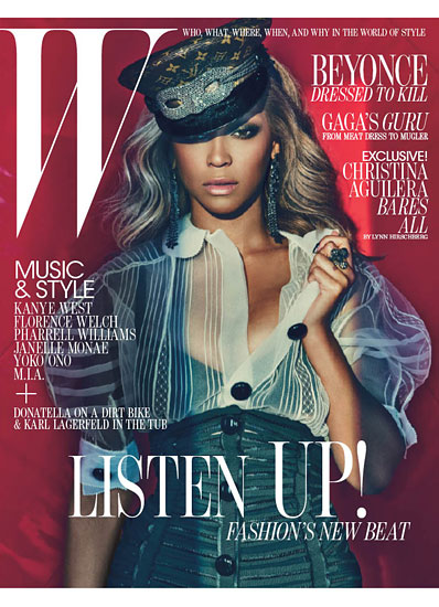 beyonce on the cover of the july 2011 issue of w magazine rare hot sexy promo singer halo hot sexy photo shoot rare promo