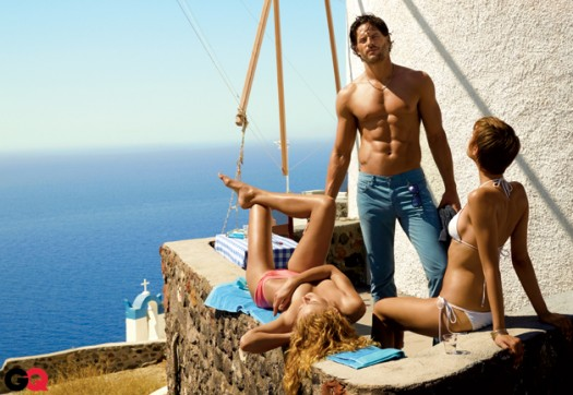 joe manganiello is sexy and shirtless in a new photo shoot for the july 2011 issue of gq magazine true blood season 4 hot sexy rare alcide muscle workout rare abs hot rare promo biceps workout naked shirtless jean hot sexy