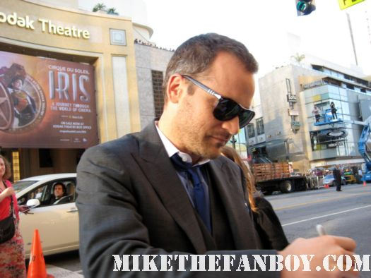 Peter Sarsgaard signs autographs for fans at the green lantern world movie premiere autograph signed hot sexy orphan skeleton key creepy rare hot photo shoot promo
