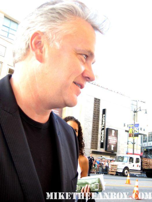 shawshank redemption star Mr. Tim Robbins signs autographs for fans at the world movie premiere of green lantern the player bull durham hudsucker proxy rare