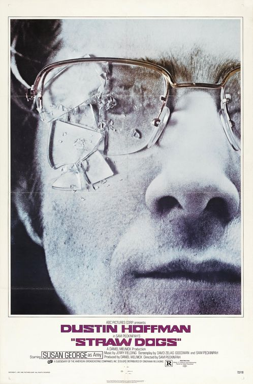 dustin hoffman in the original straw dogs one sheet movie poster rare original promo hot one sheet movie poster meet the fockers rain man kramer vs kramer promo
