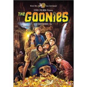 the goonies rare one sheet movie poster dvd cover art sean astin corey feldman rare promo josh brolin martha plimpton hot sex rare press still