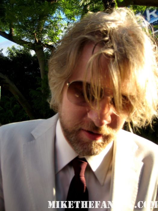 todd lowe signing autographs at the true blood season 4 world premiere hot sexy rare promo poster mike the fanboy rare gilmore girls