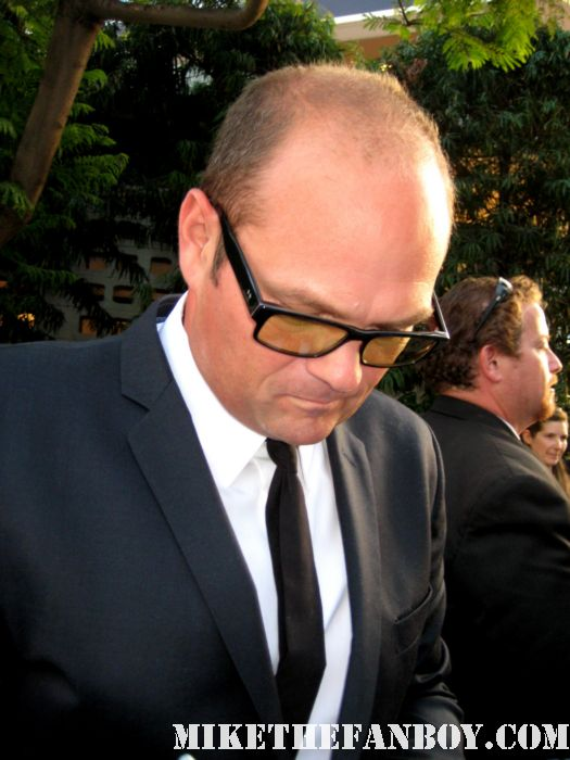 chris bauer signing autographs at the true blood season 4 world premiere hot sexy rare promo poster mike the fanboy rare sexy vampire