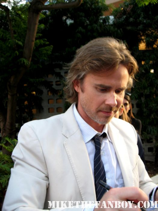 sam trammell signing autographs at the true blood season 4 world premiere hot sexy rare promo poster mike the fanboy rare sexy vampire