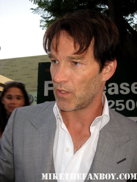 stephen moyer bill compton signing autographs at the true blood season 4 world premiere hot sexy rare promo poster mike the fanboy rare sexy vampire
