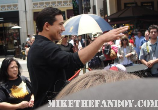 mario lopez extra rare tons of make up saved by the bell greg louganis story promo shoot autographs