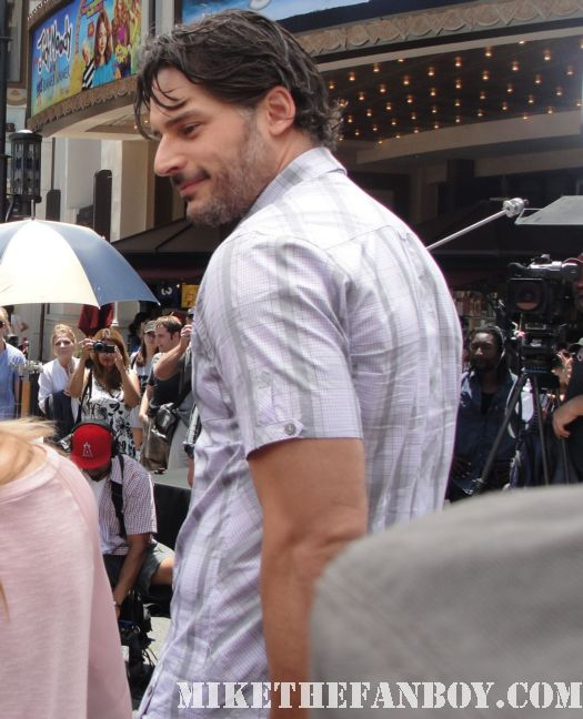 joe manganiello true blood signed autograph sexy hot extra grove rare promo damn fine fan friendly photo shoot sexy sex workout abs