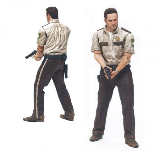 McFarlane Toys the walking dead series 1 action figure collection Deputy Rick Grimes series 1 walking dead amc action figure collection