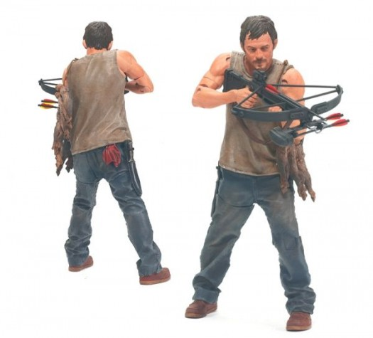 McFarlane Toys the walking dead series 1 action figure collection Daryl Dixon series 1