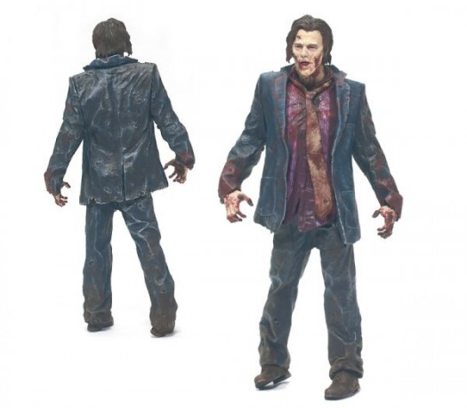 McFarlane Toys the walking dead series 1 action figure collection Zombie Walker - includes a special wind-up feature