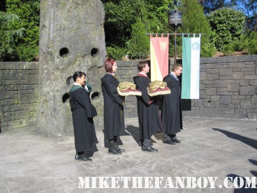 choir  at the wizarding world of harry potter at universal studios orlando florida
