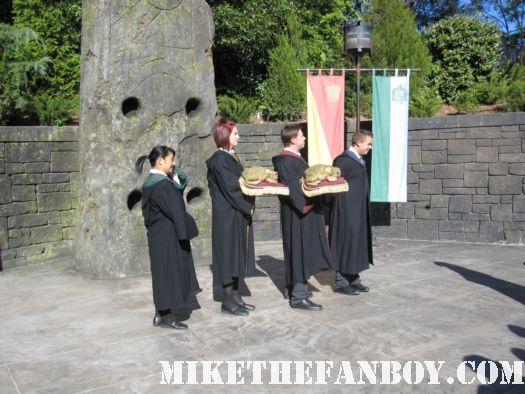 choir  at the wizarding world of harry potter at universal studios orlando florida