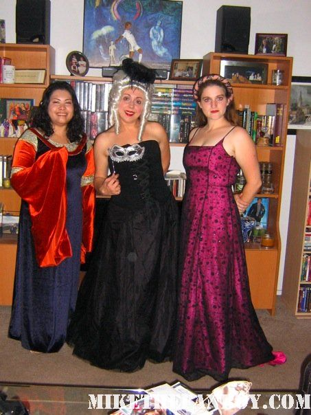 Corset and long skirt dressed up revelers in costume at the 14th Annual Labyrinth of Jareth Masquerade the novel strumpet dressed up in dress and corset