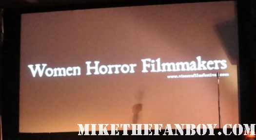 The Viscera Film Festival at the silent movie theatre in los angeles rare promo women horror filmmakers rare