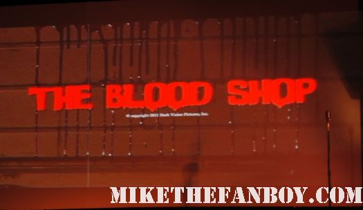 The Viscera Film Festival at the silent movie theatre in los angeles rare promo women horror filmmakers rare the blood shop by annette ashlie slomka
