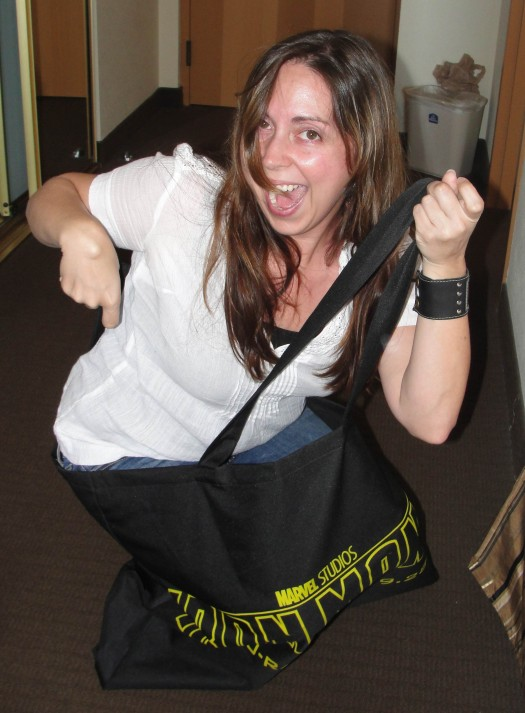 the novel strumpet from mike the fanboy trying to fit into my comic con iron bag sdcc 2011