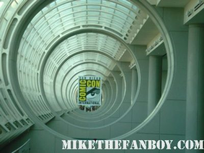 san diego comic con 2011 rare promo logo hot sdcc 2011 2010 rare promo mike the fanboy san diego convention hall logo