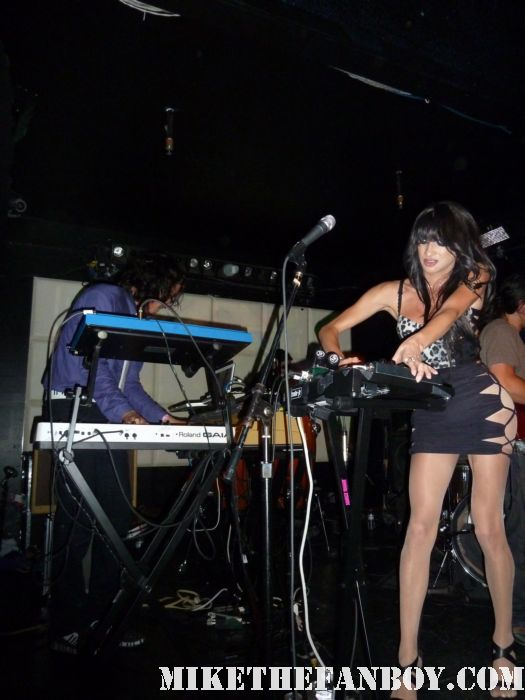 Jessica 6 performing a live concert at the echo in los angeles in los angeles ca with lead singer Nomi Ruiz live concert photos rare promo hot sexy Morgan Wiley, and Andrew Raposo