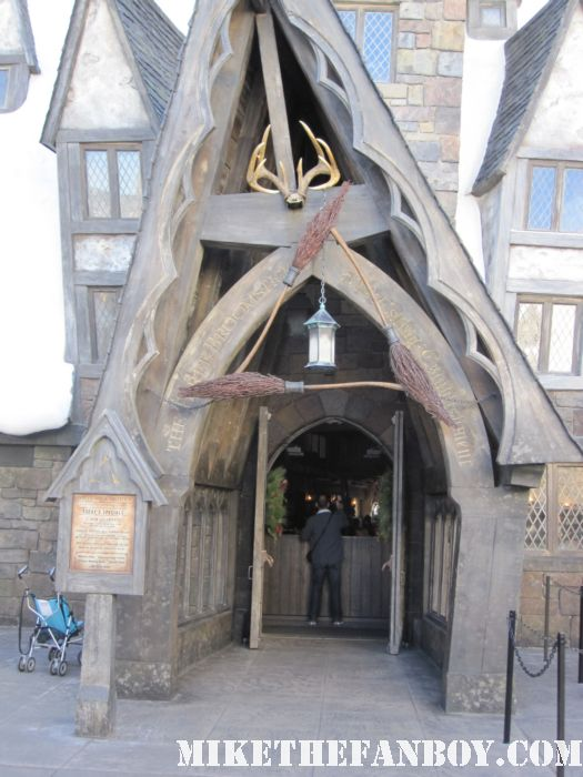 entrance to the wizarding world of harry potter at universal studios orlando florida
