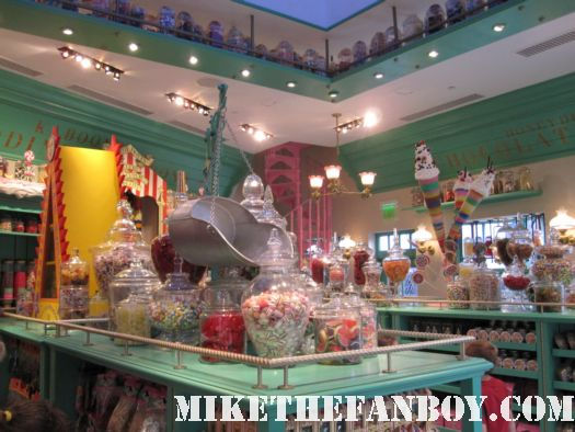 honeyduke's candy store at the wizarding world of harry potter at universal studios orlando florida