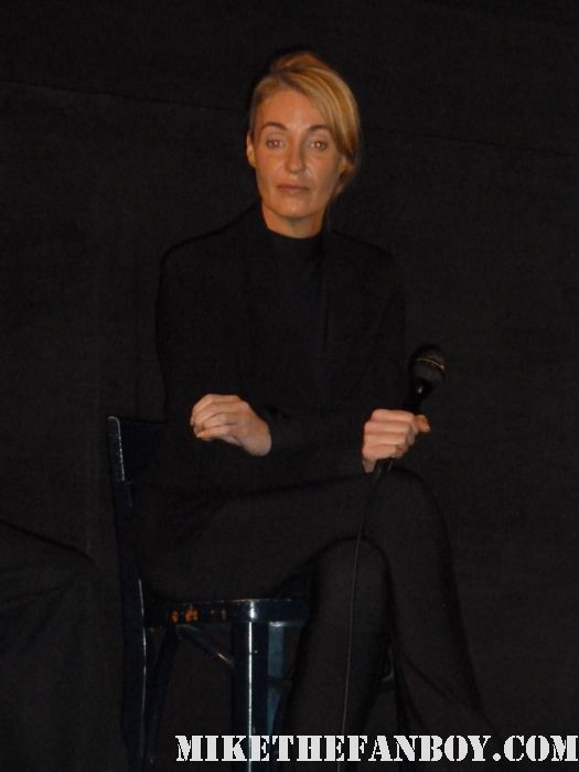 "Lisa Gerrard of dead can dance during a q and a for her documentary from 2006 entitled ""Sanctuary"" and the Dead Can Dance live concert film ""Toward the Within"" released in 1994 sexy hot signed autograph rare"