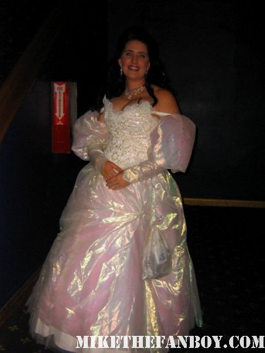Sara from labyrnth at the 14th Annual Labyrinth of Jareth Masquerade the novel strumpet dressed up in dress and corset