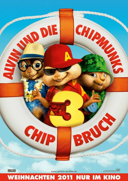 alvin and the chipmunks chipwreked movie poster alvin_and_the_chipmunks_chipwrecked part 3 promo teaser movie poster one sheet rare promo hot simon theodore rare