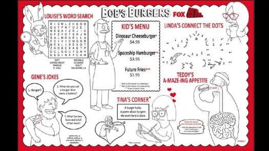 bobs burgers  san diego comic con rare limited edition fox poster 2011 sdcc 2011