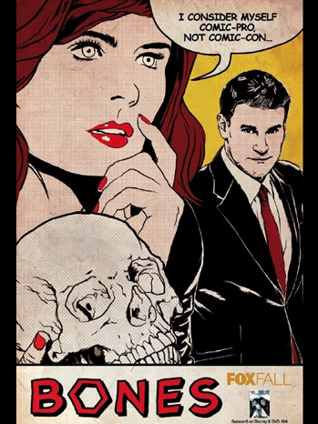 bones san diego comic con rare limited edition fox poster 2011 sdcc 2011 david boreanaz emily deshanel rare signed autograph buffy the vampire slayer