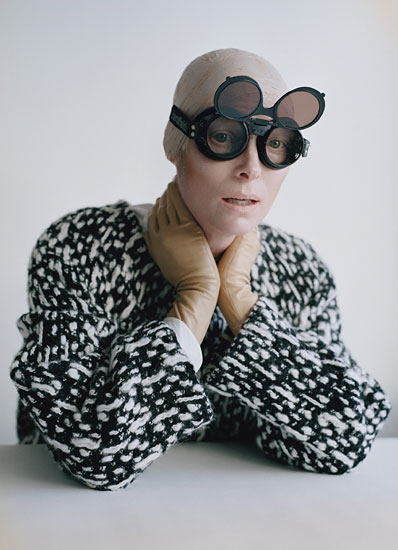 Tilda Swinton is Stunning on the August 2011 cover and photo shoot for W Magazine hot sexy rare promo I am love? we need to talk about Kevin rare the beach promo rare