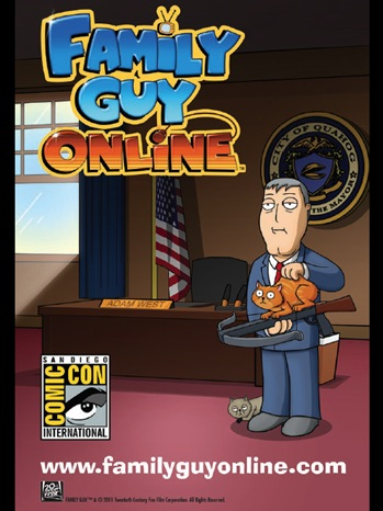 family guy online san diego comic con rare limited edition fox poster 2011 sdcc 2011 rare signed autograph