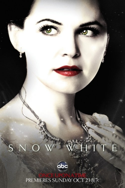 ginnifer goodwin rare once upon a time abc promo poster mini comic con snow white hot sexy teaser poster rare