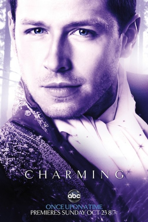josh dallas prince charming rare once upon a time abc promo poster mini comic con snow white hot sexy teaser poster rare