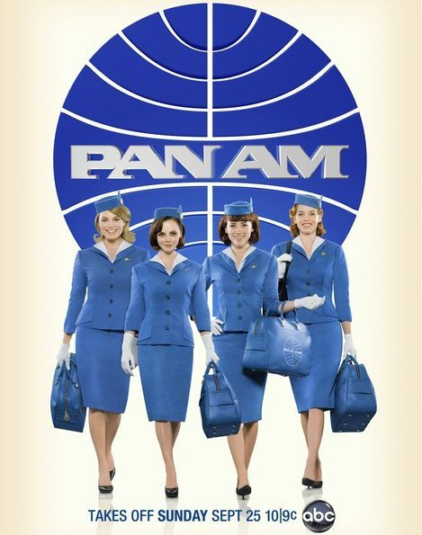 christina ricci rare pan am abc promo poster teaser rare flight bag comic con 2011 hot sexy stewardess rare