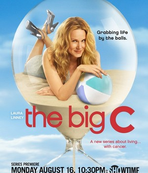 laura linney in the big c season 1 rare promotional poster mini hot sexy showtimes women bring it on