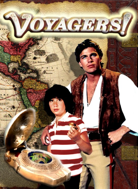 voyagers rare promo dvd cover art press still Meeno Peluce hot sexy rare child actor