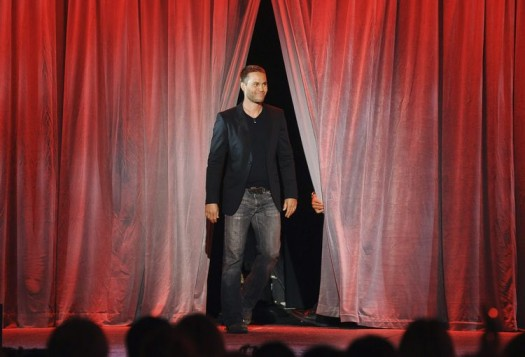 TAYLOR KITSCH looking sexy and hot at the d23 expo 2011 with short hair at the john carter from mars panel