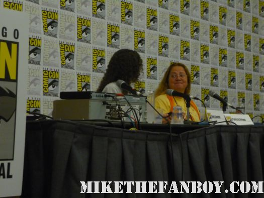 Patricia Briggs Panel at san diego comic con 2011 sdcc 2011 rare book lovers promo hot rare promo free books