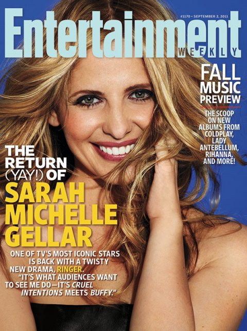 entertainment-weekly-september-2-2011-the-return-of-sarah-michleel-gellar buffy the vampire slayer cruel intentions rare promo hot sexy magazine cover