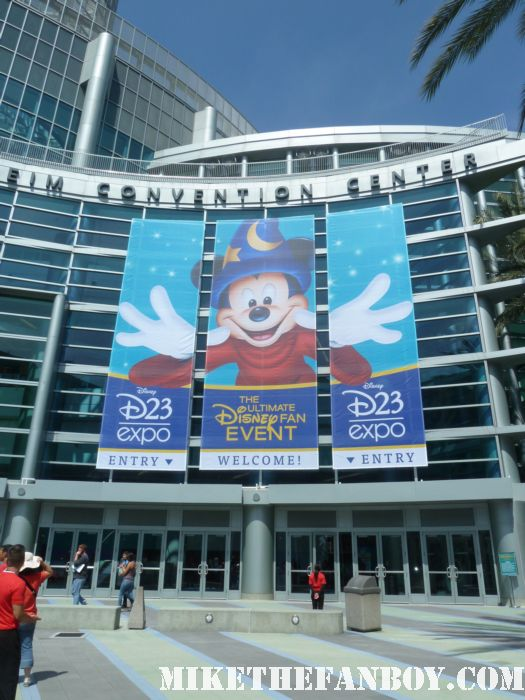 the front of the d23 expo 2011 the annual disney fan event held in anaheim ca rare promo mickey mouse rare