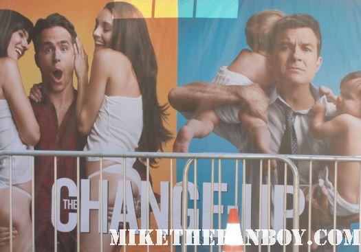 The change up world movie premiere with ryan reynolds olivia wilde jason bateman leslie mann rare promo red carpet