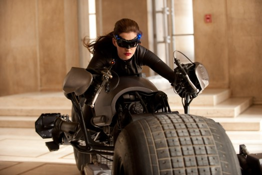 anne Hathaway as selina kyle or catwoman in The Dark Knight Rises rare promo press still hot sexy christopher nolan photo promo press still