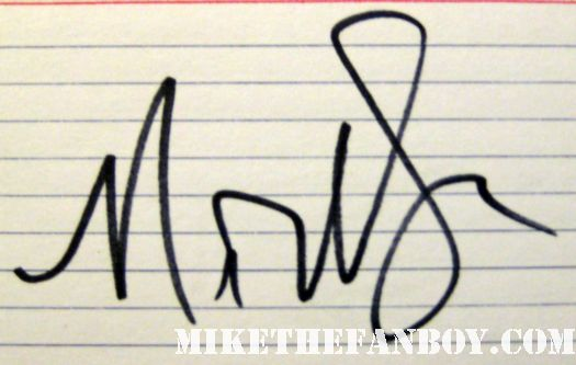 Nick Swardson signs autographs for fans at the 30 minutes or less world movie premiere rare promo