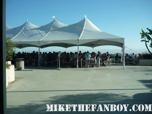 people camping outside trying to get into hall h for the twilight panel at san diego comic con 2011 sdcc 2011