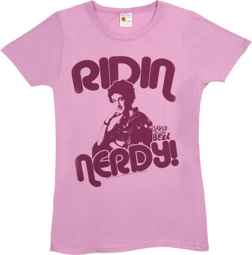 Saved_By_the_Bell_Screech_Ridin_Nerdy-T shirt rare promo zac morris ac slater rare hot sexy rare screech promo press still from Saved By The Bell dustin diamond rare promo photo